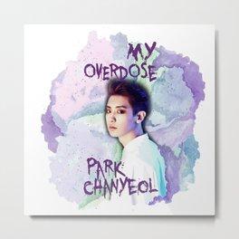 Park Chanyeol Metal Print