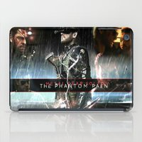 metal gear solid iPad Cases featuring metal gear solid V  , metal gear solid V  games, metal gear solid V  blanket, by Eirarose