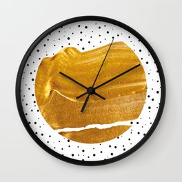 Stay Gold #society6 #decor #buyart Wall Clock