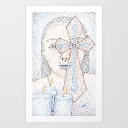 plank in the eye Art Print