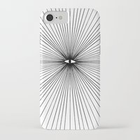 all seeing eye iPhone & iPod Cases featuring all seeing eye by Bunny Miele