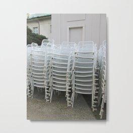 stackings Metal Print