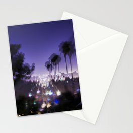 Chasing Light in Los Angeles Stationery Cards