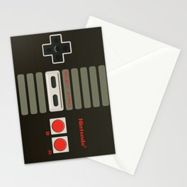 NES Controller Stationery Cards