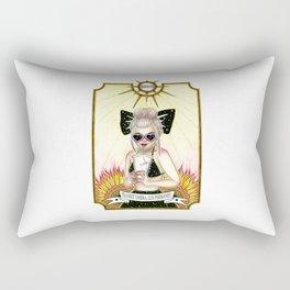 Transit umbra, lux permanet Rectangular Pillow