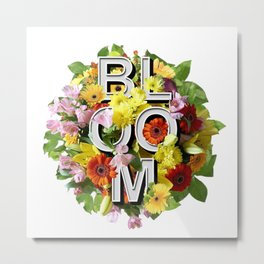 Spring Bloom Floral Bouquet Metal Print