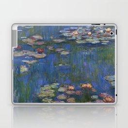 WATER LILIES - CLAUDE MONET Laptop & iPad Skin