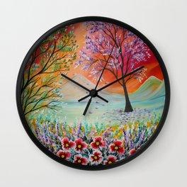 Magic Landscape Wall Clock