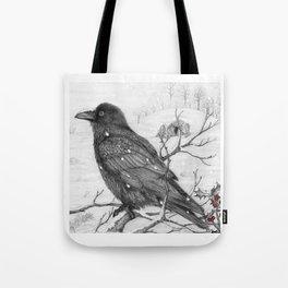 Midwinter Raven v2 Tote Bag