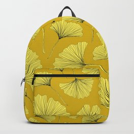 YELLOW AUTUMN GINKGO Backpack