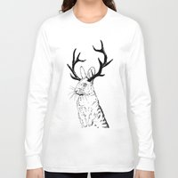 jackalope Long Sleeve T-shirts featuring Jackalope by JChauvette