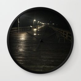 A walk alone Wall Clock
