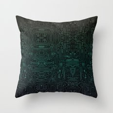 Circuitry Details Throw Pillow