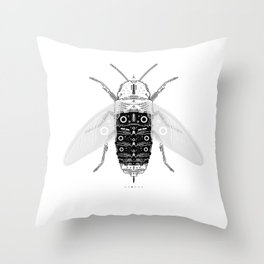 entomology 03. (iii) Throw Pillow
