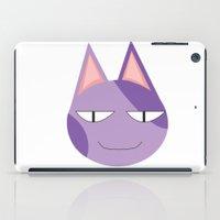 animal crossing iPad Cases featuring Animal Crossing: Bob by Bradley Bailey