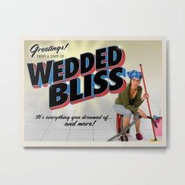 Wedded Bliss Metal Print