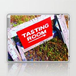Tasting Room Sign At Ani Che Cellars Laptop & iPad Skin