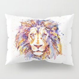 Lion Head Pillow Sham
