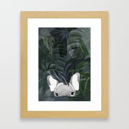 Jungle frenchy Framed Art Print