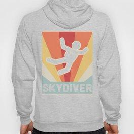 Vintage Style Skydiver Hoody