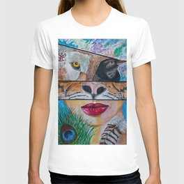 Shapeshifting T-shirt