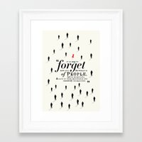 paper towns Framed Art Prints featuring Paper Towns by thatfandomshop