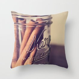 Cinnamon Sticks 2 Throw Pillow