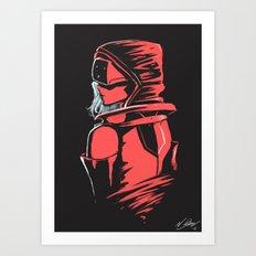 Cyberpunked Art Print