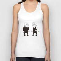 twins Tank Tops featuring twins  by Adrian Osorio
