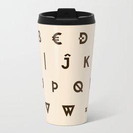 Alphabetical Order Travel Mug