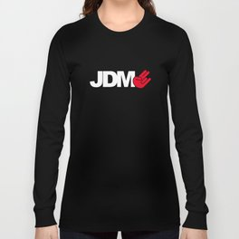 JDM shocker v4 HQvector Long Sleeve T-shirt