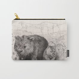 Path to wombat pool Carry-All Pouch