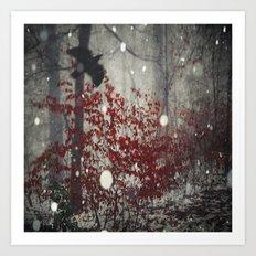 Heart of Winter Art Print