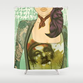 No Slave to the Ordinary Shower Curtain