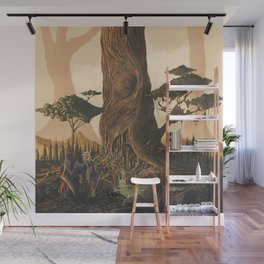 The Ancient Heart Tree Wall Mural