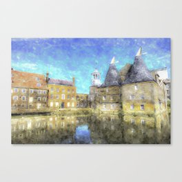 Three Mills Bow London Art Canvas Print