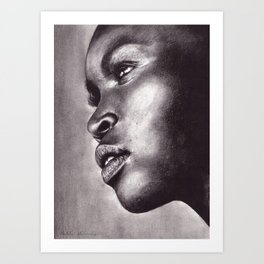 Light In Her Eyes  Art Print