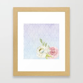 Sweet Romance Framed Art Print