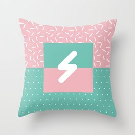 Memphis Style N°5 Throw Pillow