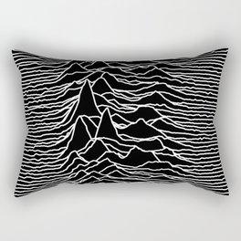 Joy Division - Unknown Pleasures Rectangular Pillow