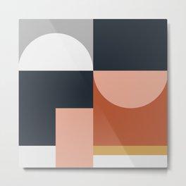 Abstract Geometric 09 Metal Print