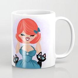 Cutie's Brand New Hair-Do And The Kitties Approve Coffee Mug