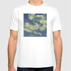 Instant Series: Clouds II White MEDIUM Mens Fitted Tee