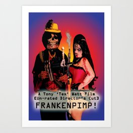 Frankenpimp (2009) - Movie Poster Art Print
