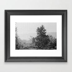 wave hill Framed Art Print