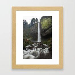 Latourell Falls Framed Art Print