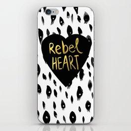 Rebel Heart iPhone Skin