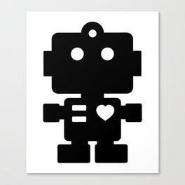 Cute Robot Canvas Print