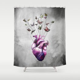 Light-hearted Shower Curtain