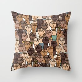 stand up - stand together Throw Pillow